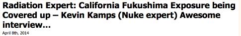 Kelvin Kamps on Fukushima ss