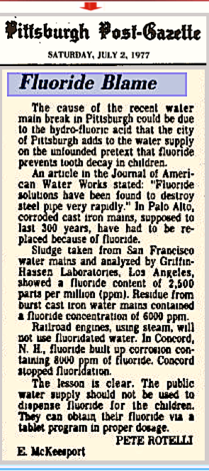 pittsburgh Post july 1977