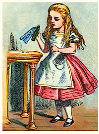 Alice with frame m