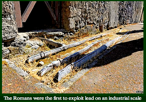 Roman lead pipes