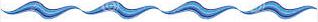 wavy blue line