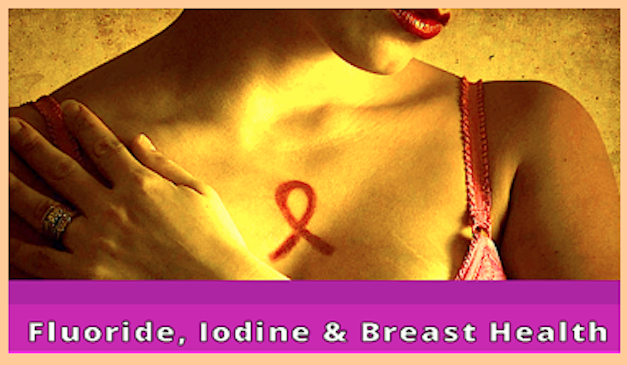 Fluoride, Iodine & breast Health