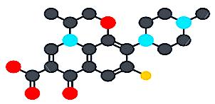 Fluoroquinlone molecule