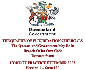 Quality of F. Chemicals Qld. gov.