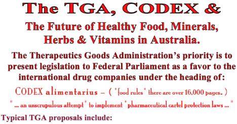 TGA &Codex ss