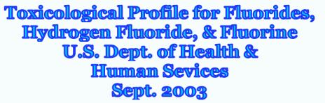U.S toxic profile F. ss