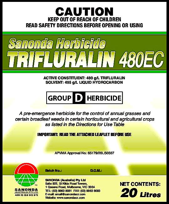 trifluralin 480EC m