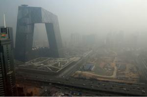 coal burning China