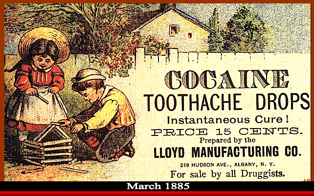 Cocaine toothache drops Image f