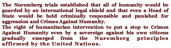 Nuremberg trials UN