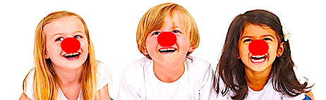 three red noses