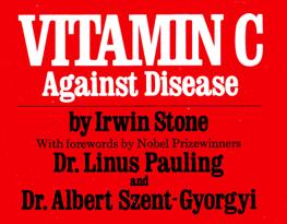 Book cover- vit.C against dis..m