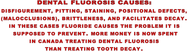 Dental F. Causes...