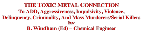 Toxic metal connection