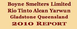 BOYNE 2010 REPORT
