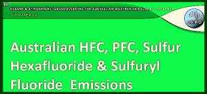 CSIRO HFC,PFC,ect