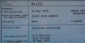 Death Cert. Jason extract