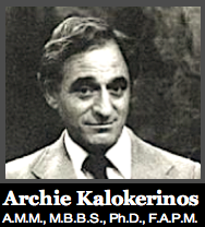 Dr. Kalokerinos b&w f