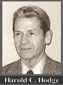 Harold C. Hodge f