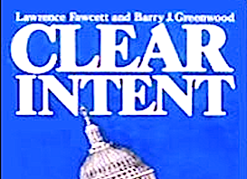 CLEAR INTENT -BOOK COVER